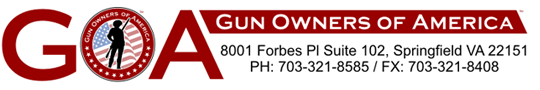 Gun Owners of America Banner