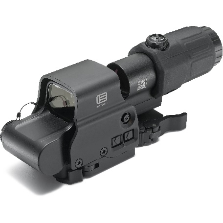 Presence of Reflex Sight with FTS Magnifier w/ Limited Eye-Relief - Example Image