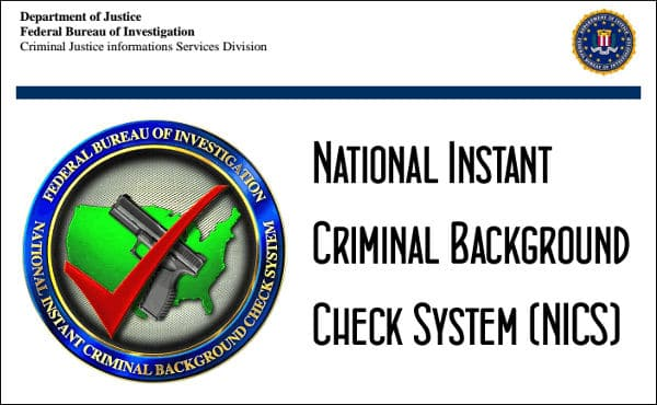 THE USELESS, INEFFECTIVE BACKGROUND CHECK SYSTEM | Gun