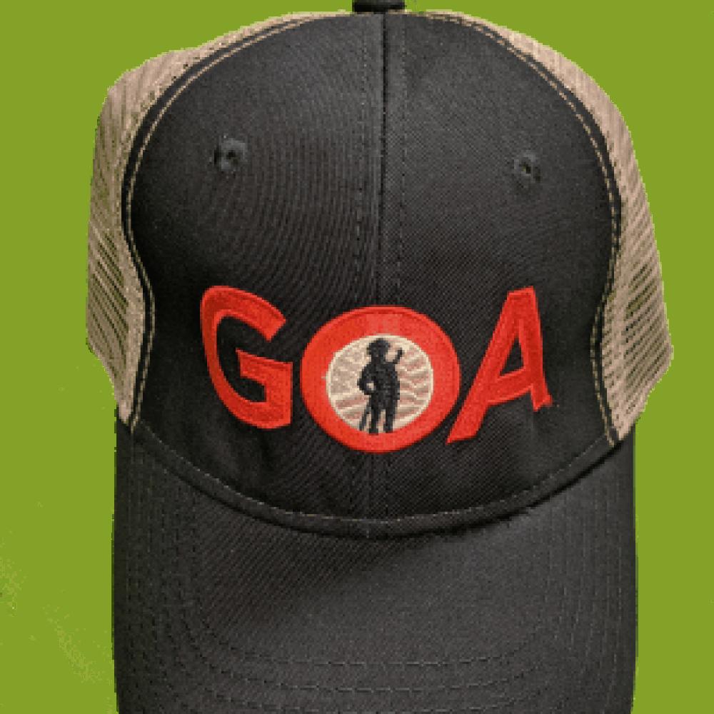25b8dadaa GOA mesh-back cap | Gun Owners of America