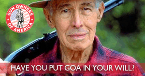 Is GOA in your Will?