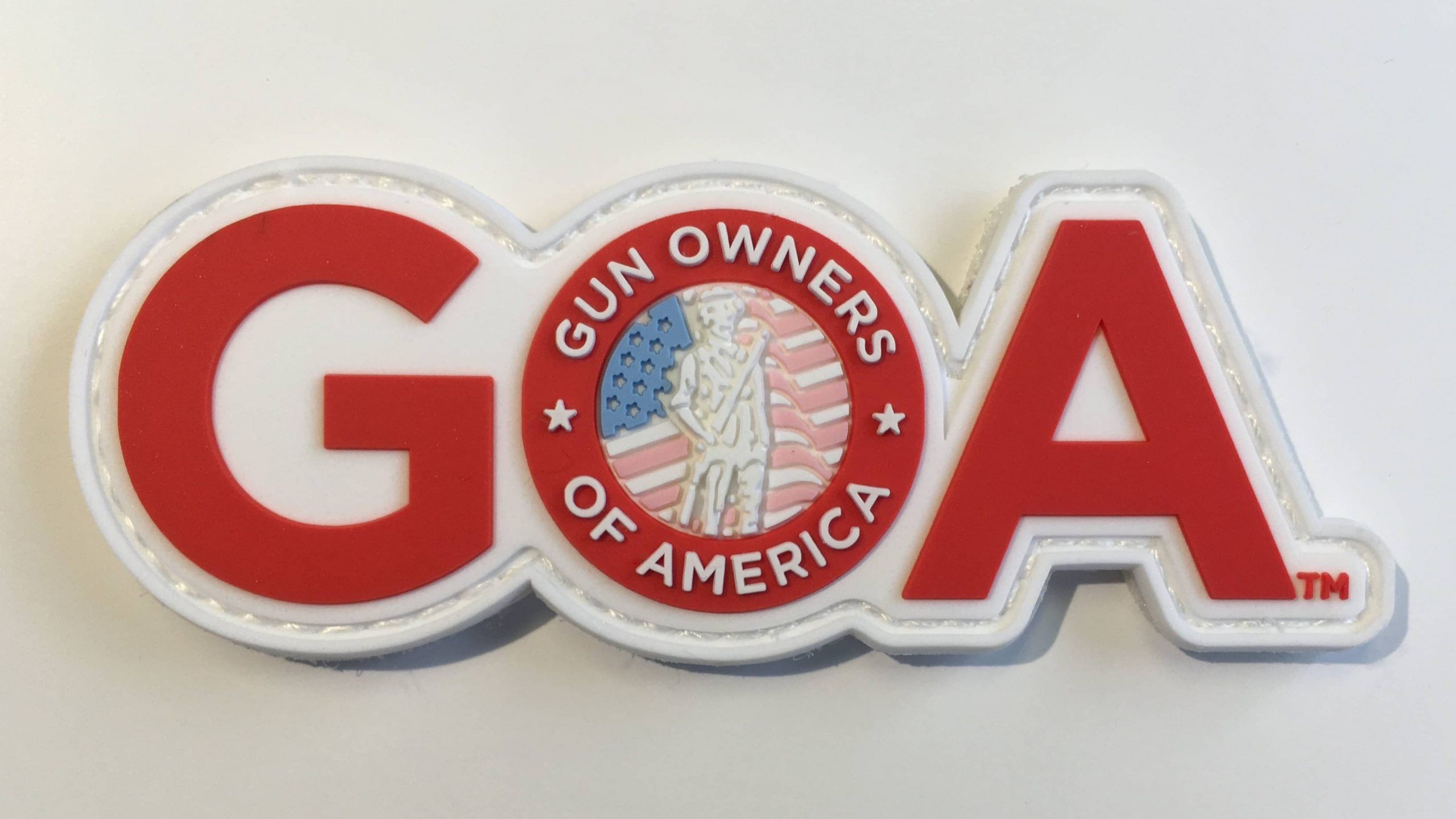 """GOA"" velcro patch"