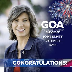 GOA congratulates Joni Ernst