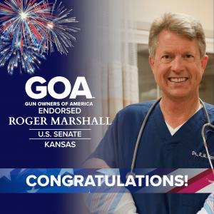 GOA congratulates Roger Marshall