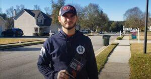 GOA volunteer door-knocking