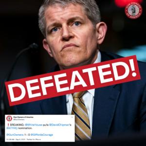 David Chipman Defeated