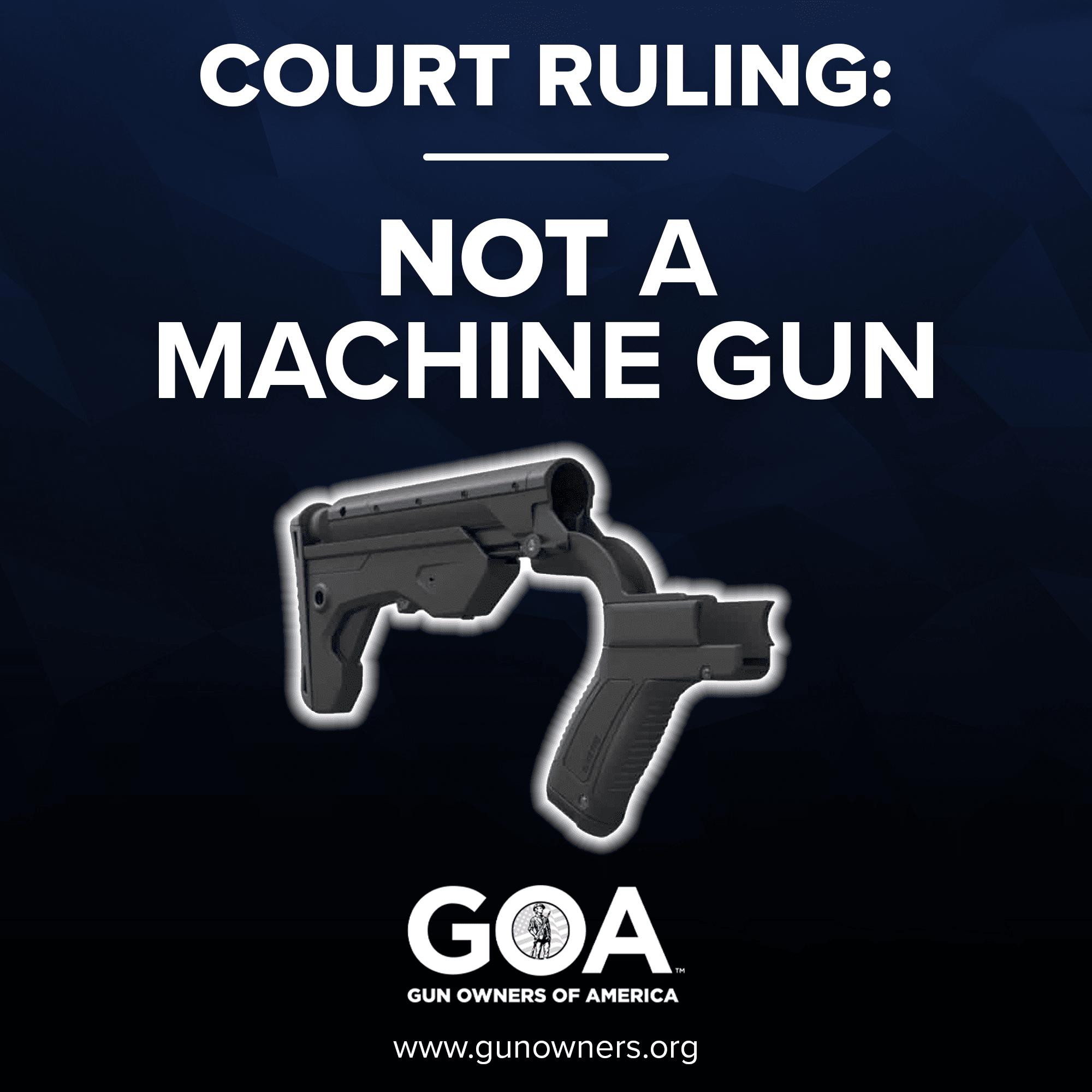 Court ruling: bump stocks are not machine guns