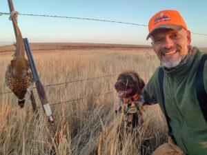 Mark Jones hunting