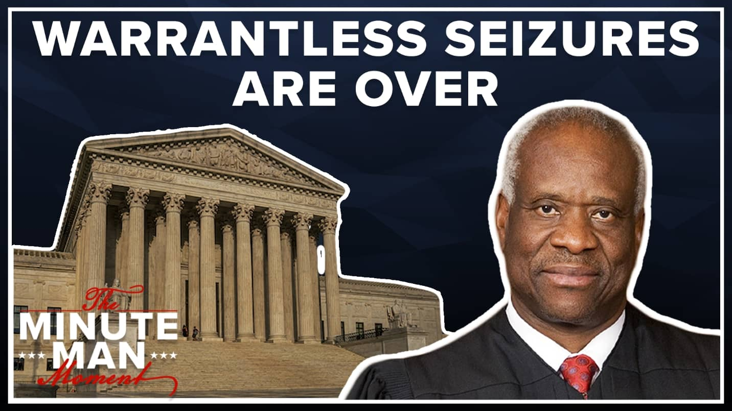 Warrantless Seizures are Over Minute Man Moment video thumbnail